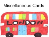 Miscellaneous Cards